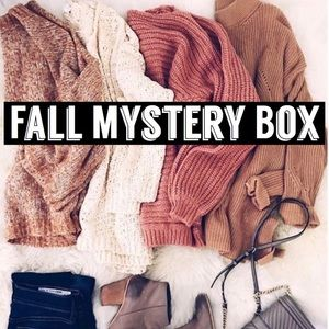 2 LEFT‼️ FALL MYSTERY BOX or RESELLERS BOX